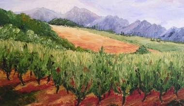 Vruchtbaar landschap